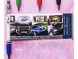 Hot Sell Squiggle Clip Banner Pen