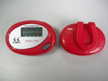 Oval shaped Simple Pedometer