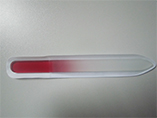Custom Promotional crystal glass nail file