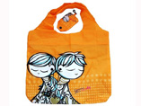 Folding Bag with Hook Promotional Gift