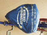 Bicycle Seat Cover with Your Branding Logo