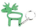 Customized Bottle Opener Keyring Animal Shape