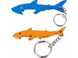 Wholesale Shark Shape Bottle Opener Keyring