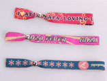 Customized Woven Wristband for Promotion