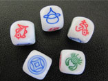 Customized Advertising Dice