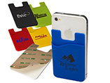 Promotional Silicone Smart Card Wallet with 3M Stic
