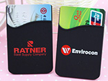 Advertising Silicone Cell Phone Wallet