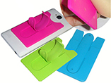 2015 New Product Silicone Phone Holder Smart Wallet for Card
