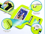 Neoprene Mobile Phone Protector Waterproof Sport Armband Case For Iphone 4 4s