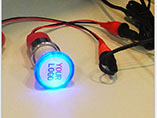 Car charger with Led lighting logo