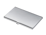 Metal Business Card Holder Desk with Laser Engrave Logo