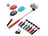Wireless Sefile Monopod stick with Remote Bluetooth Shutter