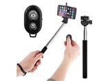 Foldable Portable bluetooth selfie stick