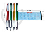 promotional gift plastic banner pen for advertisement