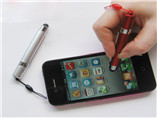 Mini Touch screen customized print flag pen with lo