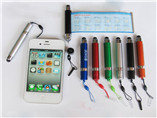 wholesale scrolling touch screen pen customed print flag pen