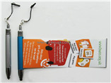 Cheap promotional pen with pull out paper