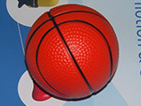 Ad products China wholesale PU stress basketball