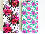 Wholesale Colourful Flower Series pc Case for Iphon