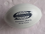 Advertising PU Rugby Stress Ball