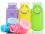 Custom Silicone Foldable Water Bottle