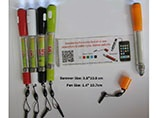 New Style promotional banner ball pen with LED ligh