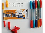 Promotional advertising multi 2 in 1 banner pen with rope