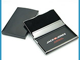 Promotional Name Card Holder With Laser Logo