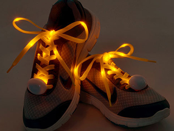 Wholesale Nylon Light Up Led Glowing Shoelace China