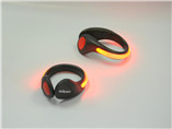 Whosale fashion led shoes clip with safety light fo