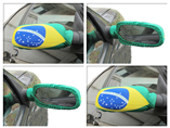 2016 Popular cheap promotional gifts car side mirror covers