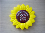 2016 hot selling Promotional sunflower shaped PU st