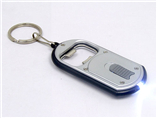 OEM plastic led keychain bottle opener with your ow