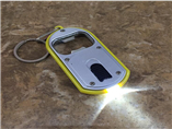 Personalized Flashing bottle opener keychain