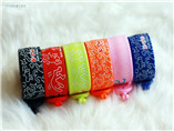 Custom cheap Silicone wristband with touch screen p