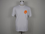 Wholesale 180gsm White Cotton T-shirt With Custom Logo Printed