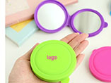 Customized silicone pocket mirror for promotional g