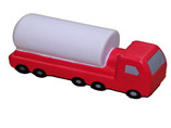 oil tank truck PU stress ball for promo or ad