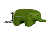 cheap smart elephant stress ball keychain for decor