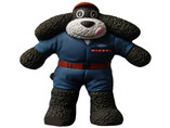 black stand bear stress ball children love soft toy