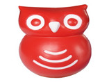 customized red owl stress ball