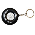 custom PU tire antistress keychain toys