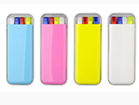Highlighter set in pocket case