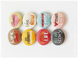 Custom Beautiful Pin Button Badge for promotional i
