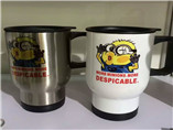 Minions printing stainless Car Cup for promotion