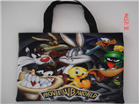 Non-woven bags with the photo printing for promotio
