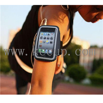 Customized Neoprene + PVC armband for iphone/iphone 6