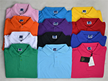 Customized polo shirt 100% cotton