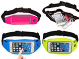 Universal Touch Screen Control Sports Waist Bag For