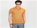 Newest design mens high quality soft textile custom printed polo t shirt